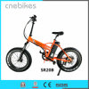 Manufactura eléctrico plegable bicicleta plegable Fat 20 a la venta