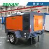 Compresor de aire portable industrial del motor diesel de la calidad de Denair en las ruedas