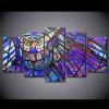 HD het afgedrukte Patroon van de Uil 5 het Schilderen van de Groep van het Canvas van het Af:drukken van de Zaal van het Decor van het Af:drukken van de Affiche Stukken van het Canvas van het Beeld