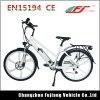柔らかいサドルおよびブラシレスモーターを搭載する都市デザインEbike