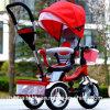2017 nuovo modello 3 in 1 triciclo della carrozzina del passeggiatore del bambino