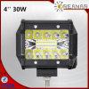 、トラックオフロード、4  SUVのための30W LED作業ライト6000K、保証2年の