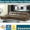 Migliore qualità L sofà del cuoio genuino della mobilia del salone di figura (A30)