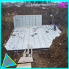 proteção ambiental de tratamento de água de alta qualidade, tanque de água galvanizados a quente