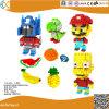 幼児のプラスチック教育おもちゃの煉瓦