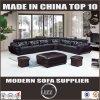 Nuovo arrivo L sofà del cuoio di figura, sofà moderno del salone