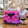O passeio do bebê no carro do brinquedo caçoa a motocicleta elétrica