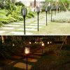 LED 토치 빛 태양 잔디밭 빛 정원 빛