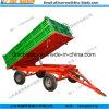중국 2017 최신 판매에서 농업에 있는 트레일러를 기울이는 4개의 바퀴