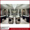 Luxury Jewelleryの記憶装置のためのハイエンドWooden Display Showcaseをカスタマイズしなさい