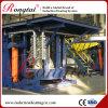 Four de fonte de cuivre de fréquence moyenne de boîtier en acier de 3 tonnes