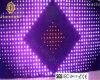 Tenda piegante flessibile di visione delle visualizzazioni di LED delle tende della fase LED