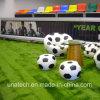 Señalización larga del área de los deportes que hace publicidad de la cartelera auta-adhesivo de los media de Trivision de la materia textil del vinilo