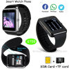 2015人間の特徴をもつ可動装置(GT08)のためのスマートなBluetoothの腕時計の電話