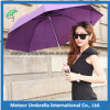 Señoras Sun y Rain Weather Promotion Gift Fashion Folding Parasol Umbrellas