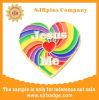 Design personalizado Rainbow Pin de lapela, macio e o emblema do esmalte, emblema do Pino