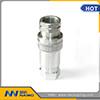 1/4  di accoppiamento rapido idraulico Locked della sfera di ISO7241A