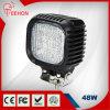 Back Cover Austauschbare 48 Watt LED-Arbeits-Licht gebildet echte CREE LED-Chips