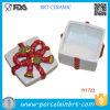 Regalo di ceramica di Buon Natale della casella di immagazzinamento in la casella di vendita calda