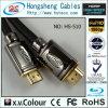Flaches HDMI Hochgeschwindigkeitskabel mit Ethernet (HS-510)