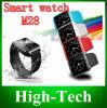 Del reloj elegante más nuevo 1.4 de 2014 pantalla M28 Bluetooth  que conecta con el teléfono elegante androide por la venta de Bluetooth Hot