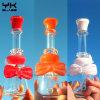 Nouvelle conception de la Chine en verre de gros tuyaux d'eau Tuyau de verre avec PERC ont mélanger des couleurs