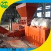 Défibreur d'arbre/machine de déchiquetage simples pour le filé et l'éléphant en plastique