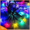 lumière actionnée solaire de chaîne de caractères d'arbre de Noël 50LED pour la décoration de vacances