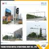 Futao Q345 6m оцинкованных светофора сигнал Pole