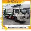 Exporté vers les constructeurs bon marché de camion d'ordures du compacteur 5cbm de la Somalie