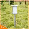 Lampe solaire extérieure de pelouse de jardin de lumière de DEL Pôle pour l'éclairage de décoration d'horizontal