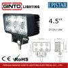 Luz do trabalho do diodo emissor de luz do projector do brilho elevado para o carro de SUV (GT1011-18W)