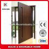 Placage d'acajou de protection de porte peignant la porte en bois composée