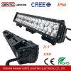 공장 320W 21.5  Emark SUV 트럭 모는 빛을%s 방수 Offroad 이중 줄 LED 표시등 막대