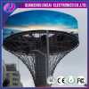 Indicador de diodo emissor de luz redondo ao ar livre personalizado da circular de 360 graus