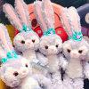 Jouet bourré mou de lapin d'amour de peluche mignonne de lapin