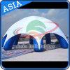 Programa de aluguer de tendas inflatórias de X-Gloo, barraca de aranha inflável para exposições e feiras de automóveis