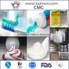 O dentífrico Certificated ISO classific o pó do CMC da celulose Carboxymethyl de sódio