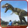 De openlucht Dinosaurus van Animatronic T Rex van de Apparatuur van de Speelplaats