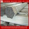 Materiais de construção do tubo de aço galvanizado com tampa de plástico