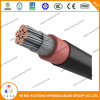 Cable de la envoltura 2/0AWG del CPE del aislante del cable 2000V Epr de Dlo Rhh/Rhw