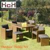 L'insieme del giardino del rattan del PE, cubo si è regolato per il giardino (HCH-007)