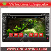 Reprodutor de DVD do carro para o reprodutor de DVD de Pure Android 4.4 Car com A9 o processador central Capacitive Touch Screen GPS Bluetooth para Fox da VW/Crossfox/Espacefox/Spacecross (AD-7102)