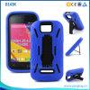Layer duel Hybrid Kickstand Phone Cas pour le JR 4.0k D143k de Blu Dash