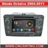 Skoda Octaiva (AD-7403)のためのA9 CPUを搭載するPure Android 4.4 Car DVD Playerのための車DVD Player Capacitive Touch Screen GPS Bluetooth