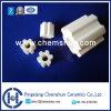 Ceramische Willekeurige Hoge Alumina van de Verpakking Gecanneleerde Ring (Alumina Al2O3 van de Ring: 99%)