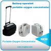 Небольшие портативные кислородный концентратор непрерывный поток с аккумуляторной батареи