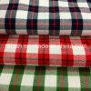 2016 Hilados de algodón teñido de la tela escocesa de la tela cruzada cepillado tela con alta densidad