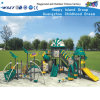 Glissière en plastique HD-Zba401 d'enfants extérieurs de cour de jeu de parc d'attractions