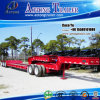 Doube Axles Dolly Low Bed Interlink Semi Trailer